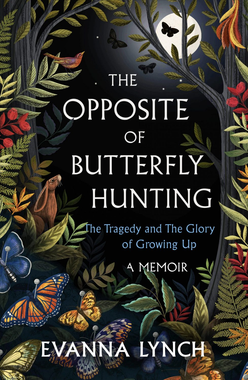Lucy Rose Illustration- The Opposite of Butterfly Hunting -cover illustration